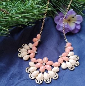 Park Lane Peach Boho Style Necklace NWOT